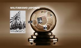 MILITARISMO JAPONES