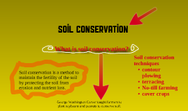Types of soil conservation by erika mendieta on prezi for 4 different types of soil