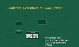 PARTES INTERNAS DE UNA TORRE