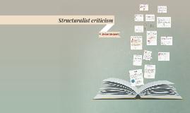 Structuralist criticism