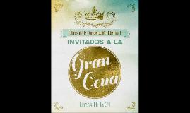 Invitados a la Gran Cena