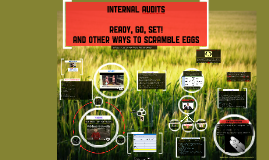 Ready Go Set - Audits and other oddities