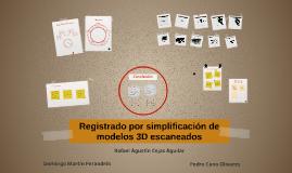 Registrado por simplificación de modelos 3D escaneados