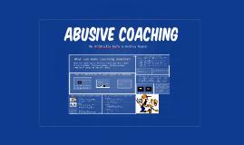 Abusive Coaching