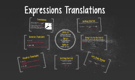 Expression Translations