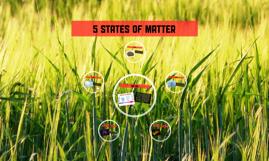 5 States of matter