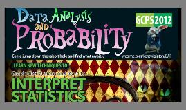 Data Analysis and Probabiltiy Presentation