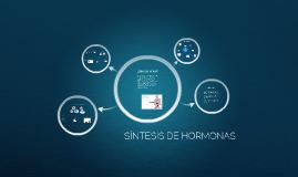 Síntesis de hormonas