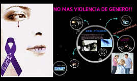 Copy of NO MAS VIOLENCIA DE GENERO