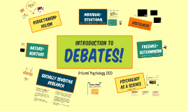 Intro to debates