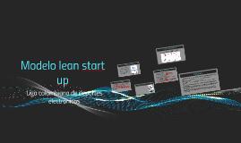 Modelo lean start up
