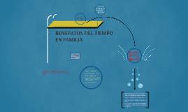 BENEFICIOS DEL TIEMPO