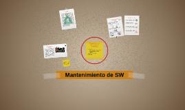 Mantenimiento de SW