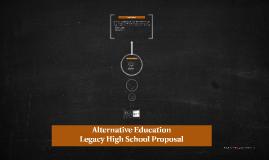 Alternative Education Proposal