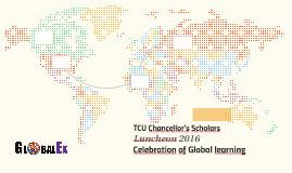 TCU Chancellor's Scholars host