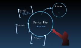 Puritan & Scarlet Letter