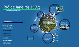Copy of CUMBRE DE RIO DE JANEIRO(1992)
