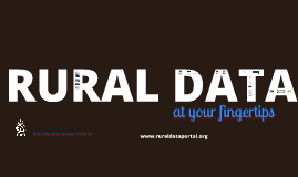 The Rural Data Portal - For LISC May 2016