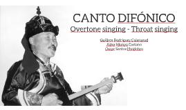 CANTO DIFÓNICO