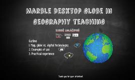 Copy of Marble - digitálny atlas v školskej praxi
