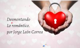El romanticismo orígenes por Jorge León Correa
