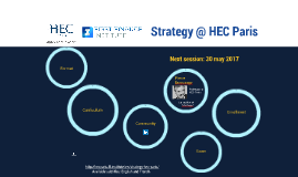 Strategy @ HEC Paris (en)
