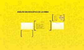 Copy of ANÁLISIS MICROSCÓPICO DE LA ORINA