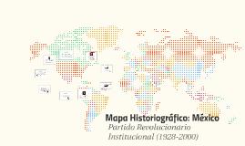 Mapa Historiográfico