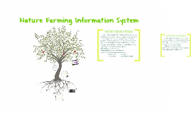 Nature Farming Information System