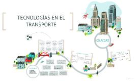 Tecnologías en el transporte
