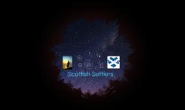 Scottish Settlers