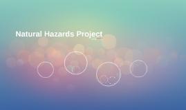 Natural Hazards Project