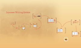 Japanese Writing System