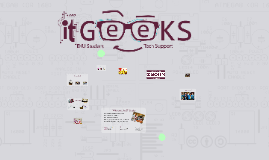 Who are the IT Geeks?