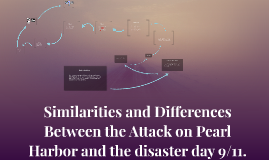 Similarities and Differences Between the Attack on Pearl Har