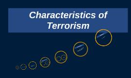 Characteristics of Ter