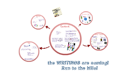 the WRITINGS are coming! Run to the hills!