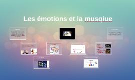 Les émotions et la musqiue