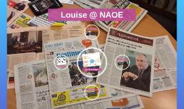 Louise @ NAOE
