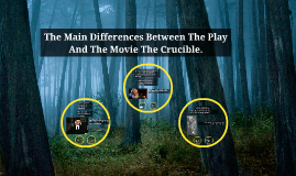 The Main Differences Between The Play And The Movie By
