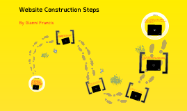 Website construction steps
