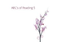 ABC's of Reading 5