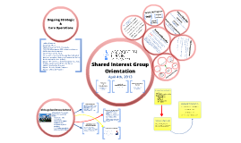 Shared Interest Group Overview
