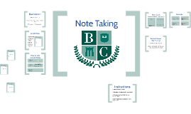 NUHS Note Taking Methods