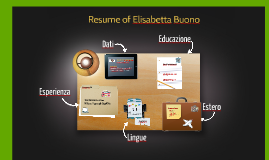 Resume of Elisabetta Buono
