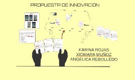 PROPUESTA DE INNOVACIÓN