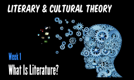 Literary & Cultural Theory