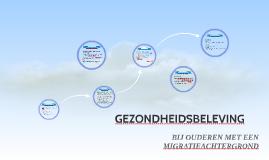 Copy of Copy of GEZONDHEIDSBELEVING