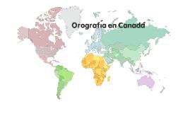 Orografía Canadá