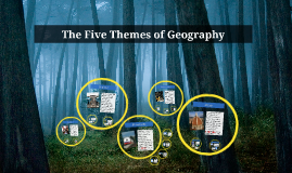 Copy of The Five Themes of Geography